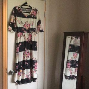 Boutique floral dress